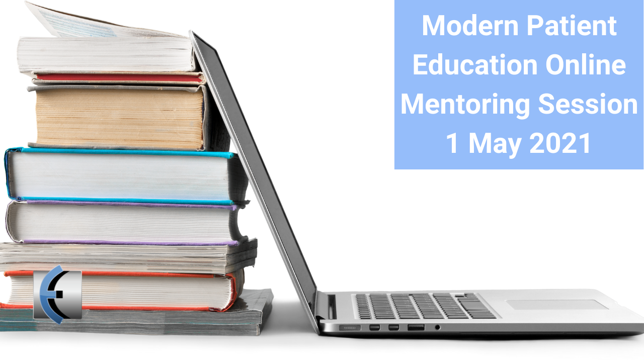 Modern Patient Education Online Mentoring Session 1 May 2021 - modernmanualtherapy.com