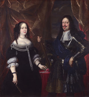 Ferdinando II and his wife, Vittoria della Rovere