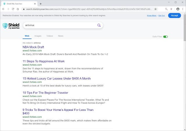Search.shieldmysearches.com (Hijacker)