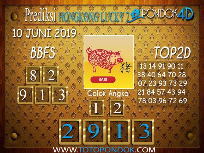 Prediksi Togel HONGKONG LUCKY 7 PONDOK4D 10 JUNI 2019