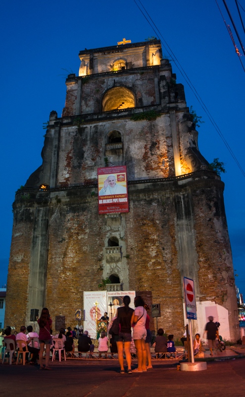Sinking Bell Tower Laoag