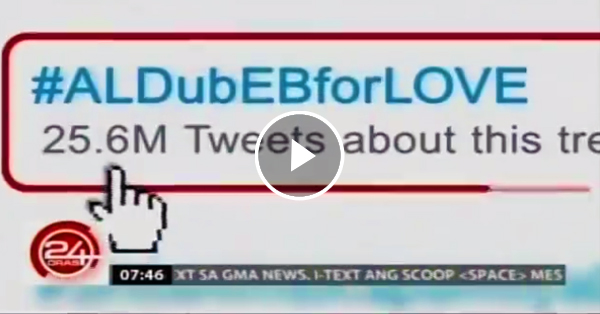 Finally, the allegations will now come to an end after 24 Oras reported about the authenticity of the tweets about AlDub