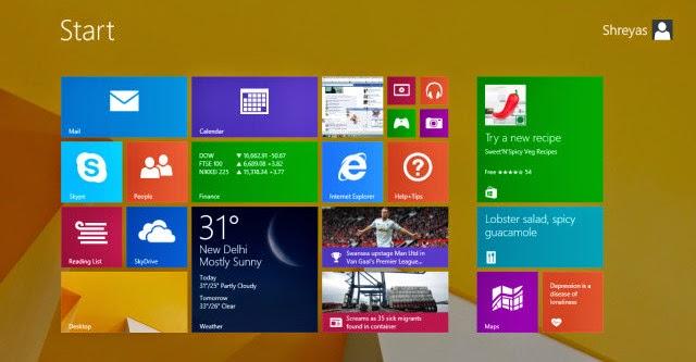 """Microsoft cung cấp trở lại một bản vá """"August Update"""" cho Windows 8.1"""