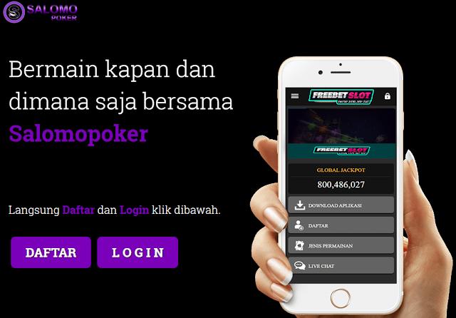 Salomopoker Situs Poker online Jackpot Terbesar