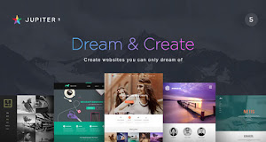Jupiter helps you create a clean and beautiful website