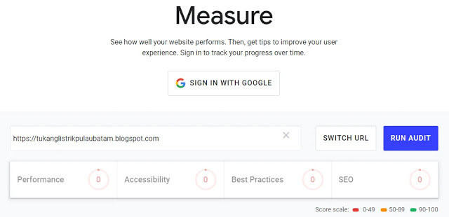 Measure - Audit Your Site