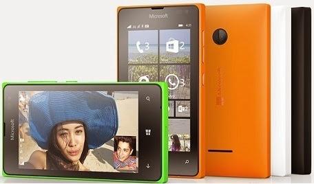 Lumia 435 dan Lumia 532