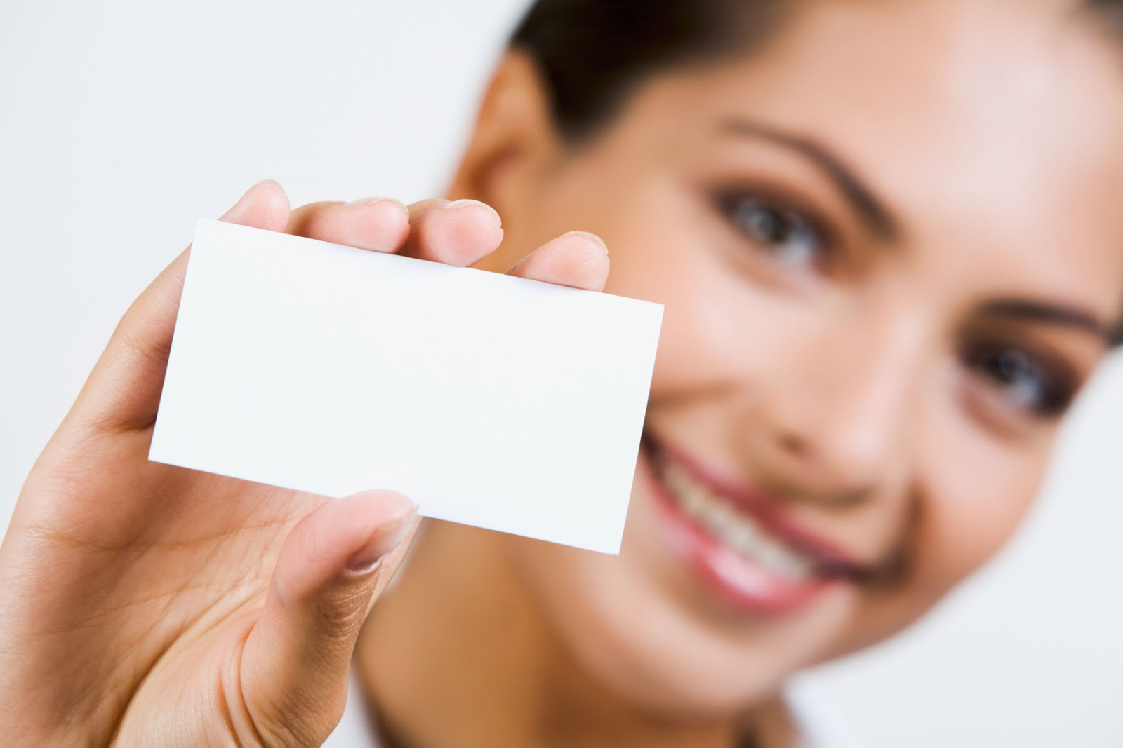 Blank Business Cards - Business Card Tips