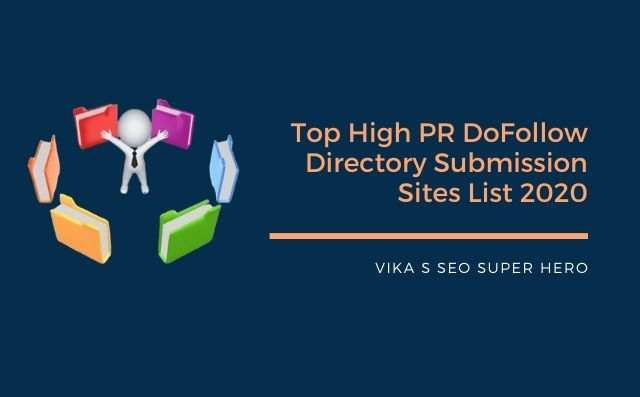 Top 50 Dofollow Directory Submission Sites List 2020