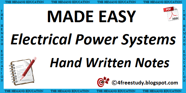 PDF GATE Class Notes Electrical Engineering Download Now