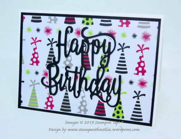 Nigezza Creates The Project Share #21 #pootlersrock Stampin' Up!