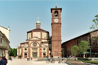 The 16th century Basilica of San Magno is situated on Legnano's main square