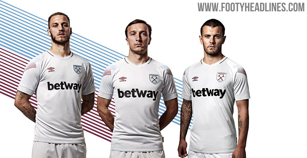 West Ham United and Umbro this morning launched the London club s new  2018-2019 third kit. For their new third jersey c92313e150546