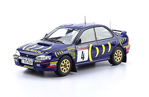 WRC collection 1:24 salvat españa, Subaru Impreza 555 1:24