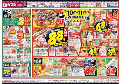 【PR】フードスクエア/越谷ツインシティ店のチラシ10月9日号