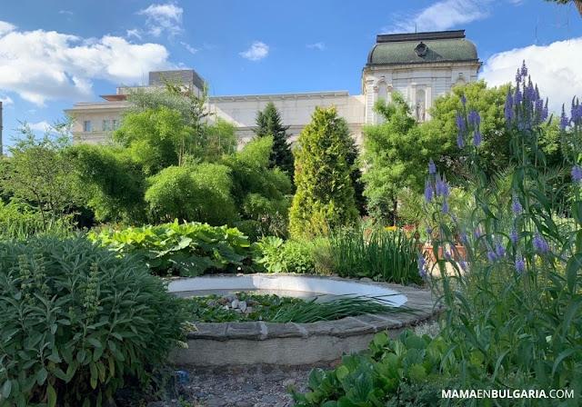 zona de agua Jardín Botánico Sofía Bulgaria