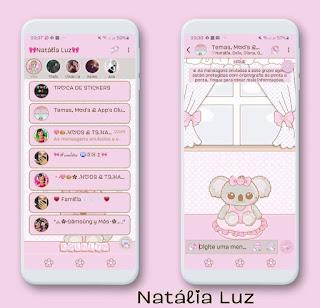 Koelyn Animal Theme For YOWhatsApp & Fouad WhatsApp By Natalia Luz