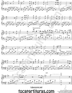 "2 Rose de Titanic by James Horner Partitura de Piano de Titanic Sheet Music for Piano ""Rose"". Soundtrack Partitura de My heart will go on también para piano"