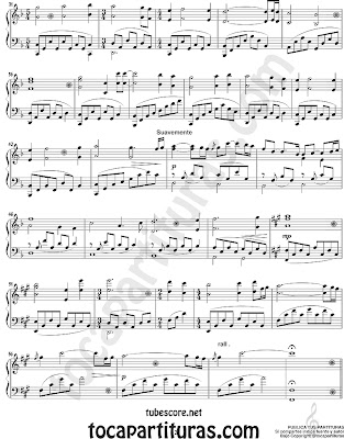 """Rose Theme"" from Titanic Sheet Music for Piano Rose Soundtrack. My heart will go on also for piano click here"
