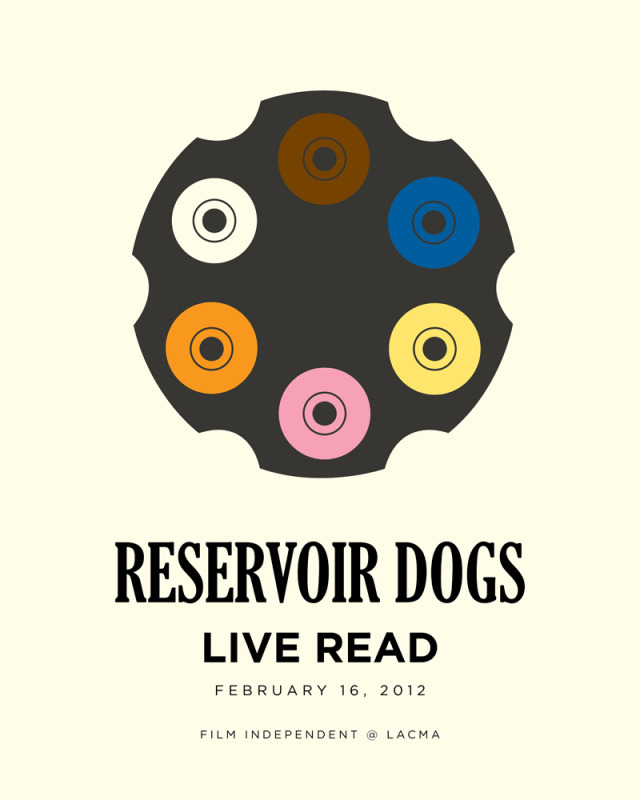 Reservoir Dogs Live Read All Black Cast