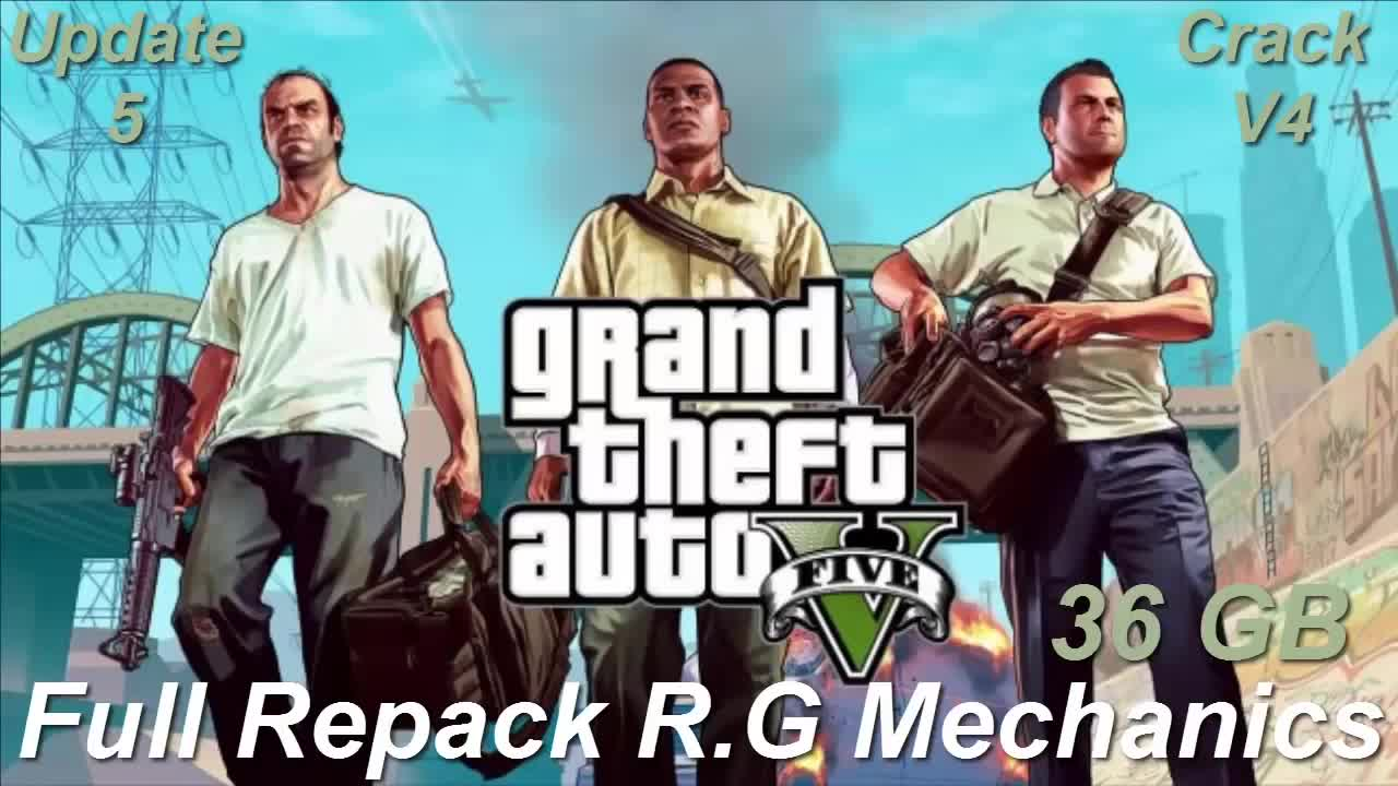download crack gta v update 5