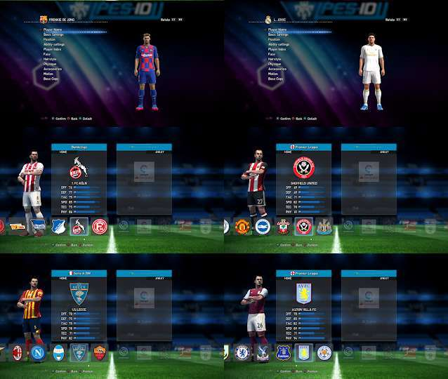 PES 2013 PES-ID UI Patch V9 0 AIO Season 2019-2020