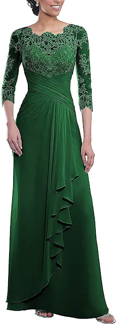 Adorable Green Mother of The Groom Dresses
