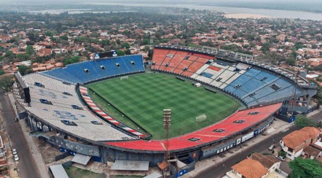 El Defensores del Chaco, un mítico estadio de  Copa Libertadores