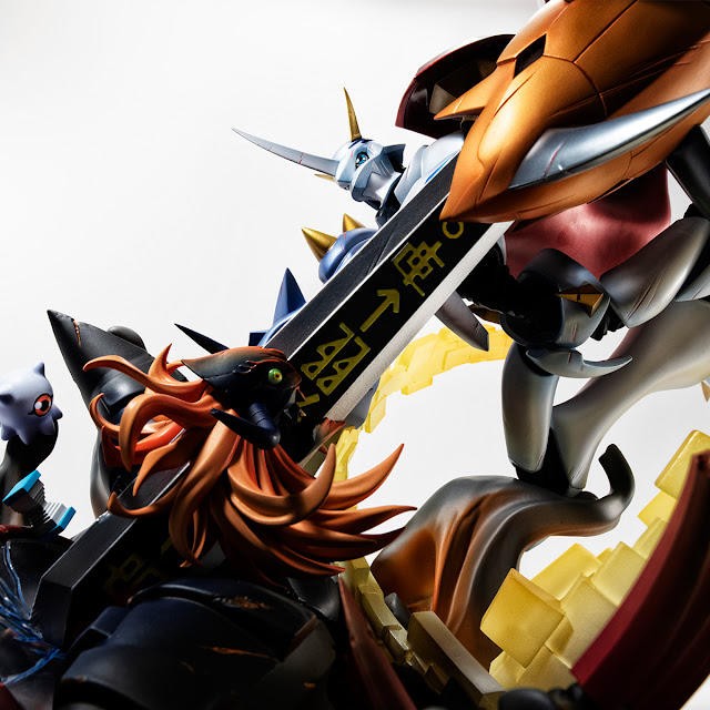 V.S. Series Omegamon vs Diaboromon de Digimon Adventure: Our War Game! , Megahouse