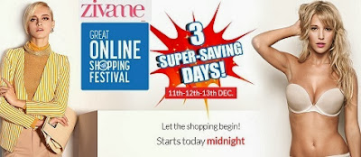 Great Online Shopping by Google:  Buy Any 2 Products & Get 1 Product FREE at Zivame