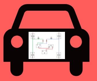 rangkaian lampu sein dan hazard mobil