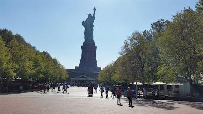 Parte trasera Estatua de la Libertad