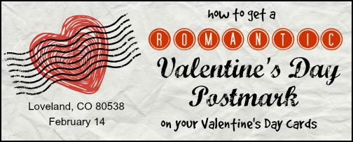 Valentine's Day Postmark