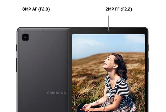 Cameras on Samsung Galaxy Tab A7 Lite
