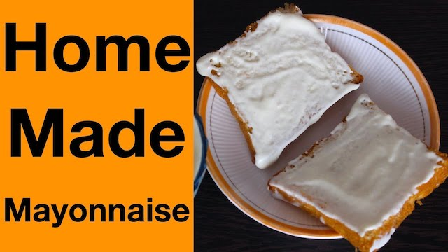 Mayonnaise  Preparation in English.