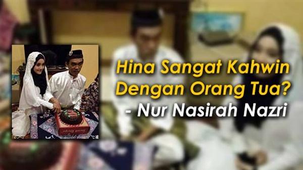 Perkahwinan Dengan Lelaki Berumur Jadi Bahan Jenaka, Remaja Ini Bidas Kritikan Netizen... Fuhh Makan Dalam Beb!!