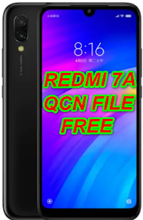 Redmi 7A MZB7995IN, M1903C3EG, M1903C3EH, M1903C3EI Qcn File For Imei Null Fix Download