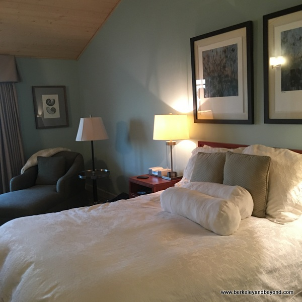 guest room at Anderson Inn in Morro Bay, California