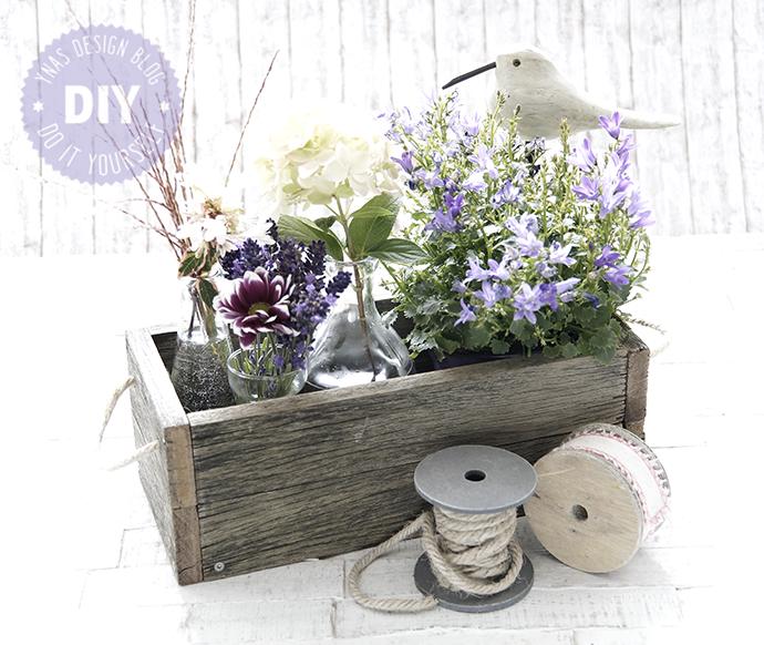 Ynas Design Blog Altes Holz Für Neues Wohnen Blumenkasten Diy