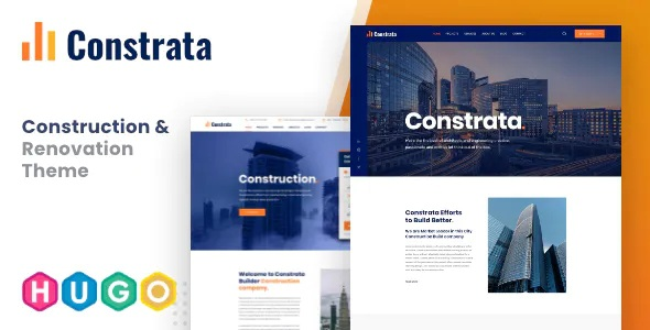 Best Construction and Renovation Hugo Template