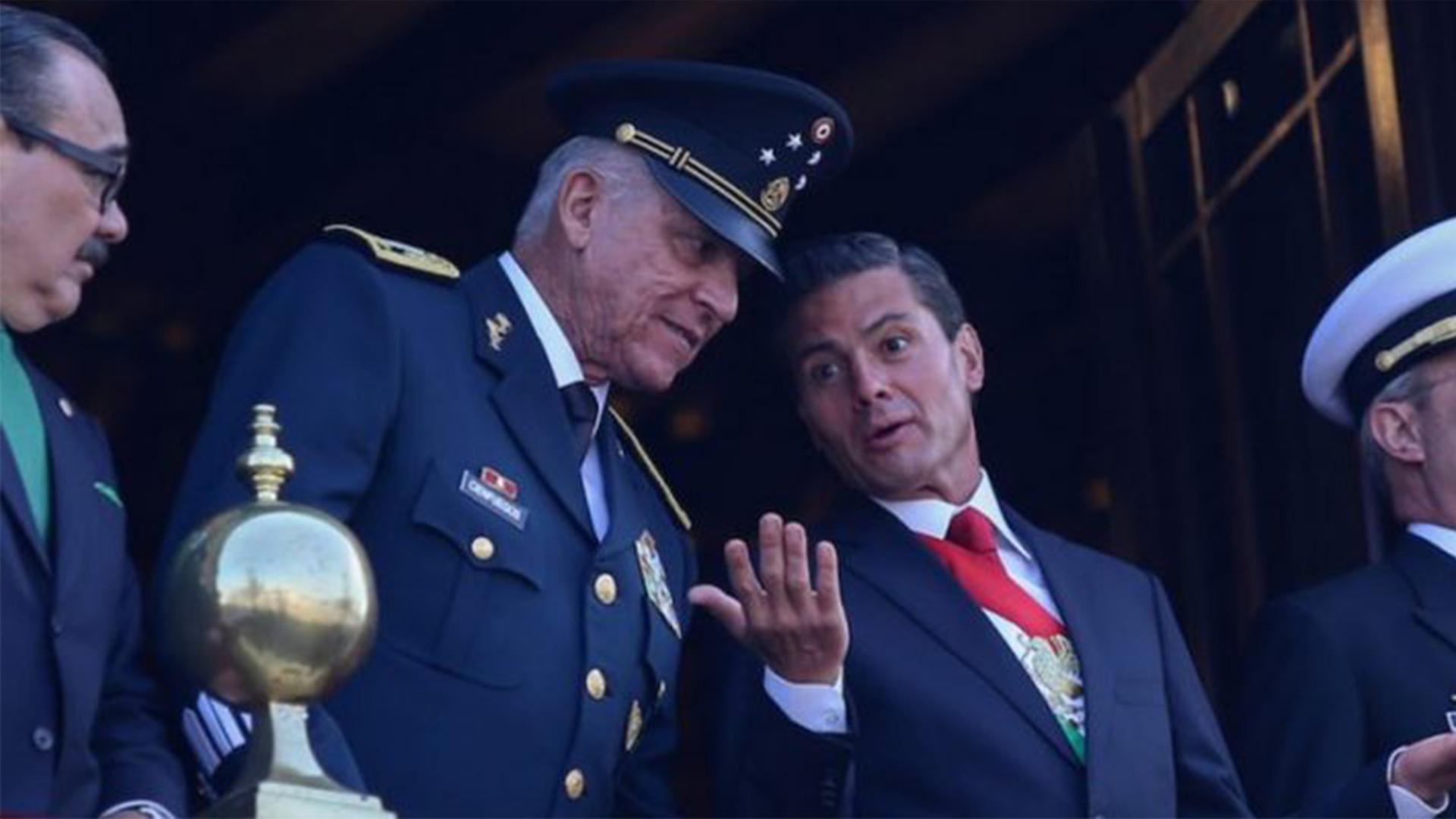 Detienen en EU al ex Secretario de Defensa de EPN, Salvador Cienfuegos