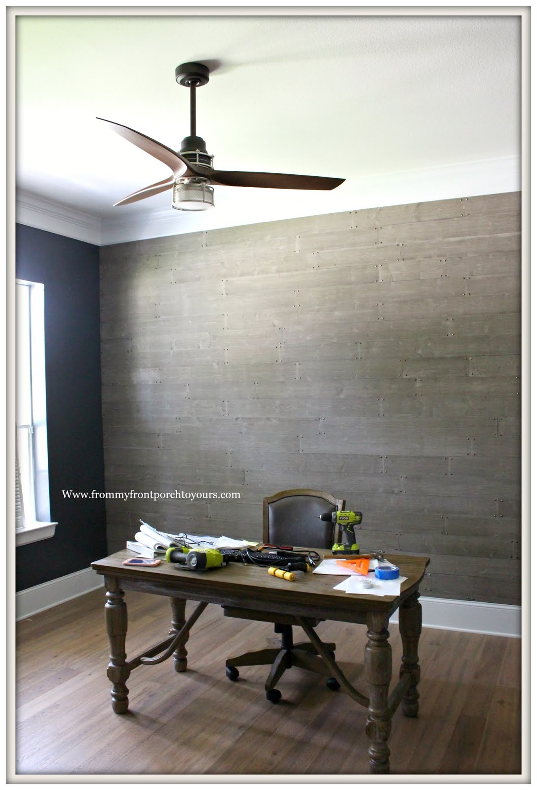 office ceiling fan. Home Office -Ceiling Fan-DIY Makeover-From My Front Porch To Yours Ceiling Fan