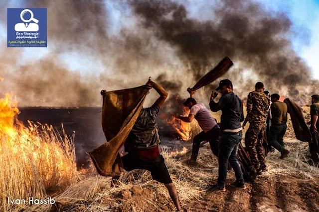 معارضة الادارة الذاتية في روج افا - شمال سوريا الى أين ، ماذا بعد الحرائق؟