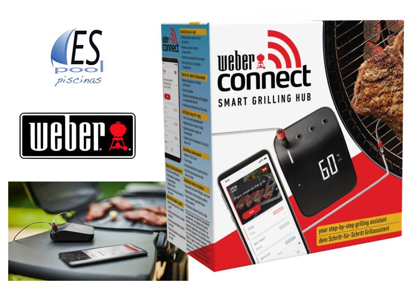 Compra tu smart grilling hub Weber Connect en tiendas Espool Piscinas