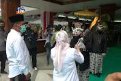 Prosesi Ritual Api Abadi, Sambut Hari Jadi Bojonegoro Ke 343