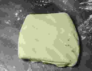 Square shape dough for amritsari kulcha
