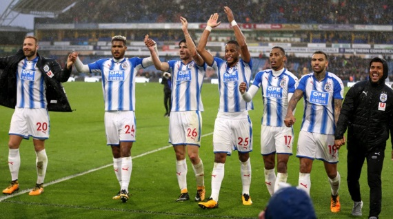 Huddersfield pulled off a shocking 2-1 victory against Manchester United last weekend at the John Smith's Stadium