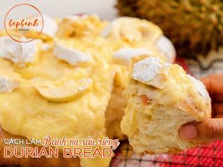 Học ngay cách bánh mì sầu riêng ngon nức nở