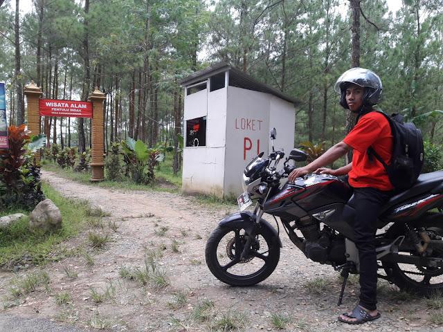 Bukit Pentulu indah, Kebumen bersama Honda Tiger Revo 2013