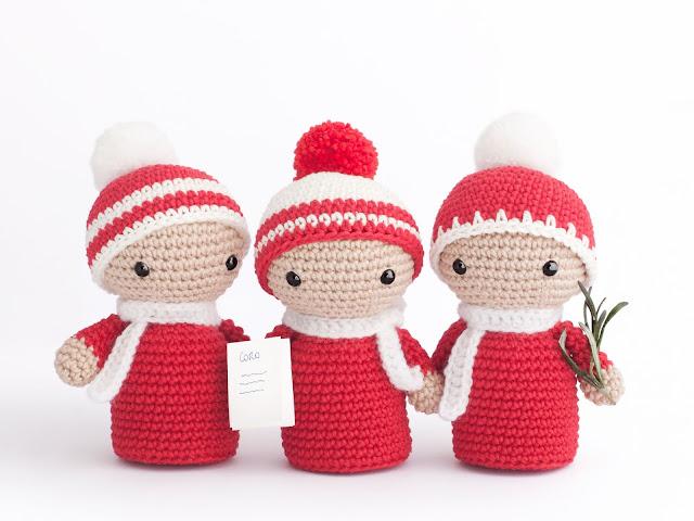 amigurumi-navidad-coro-crochet